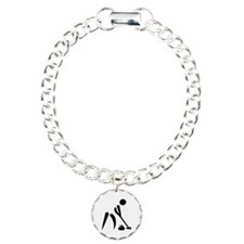 Curling player symbol Bracelet
