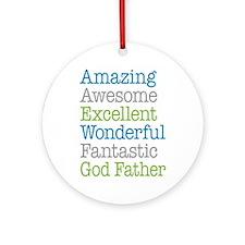 God Father - Amazing Fantastic Ornament (Round)