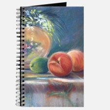 Peaches And Flowers Pastel Journal