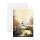 Ducks Greeting Cards (10 Pack)