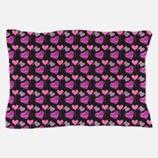 Heart of Hearts Love Pattern Pillow Case