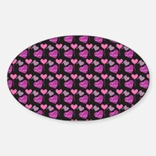 Heart of Hearts Love Pattern Decal
