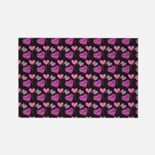 Heart of Hearts Love Pattern Rectangle Magnet