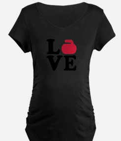 Curling love stone T-Shirt