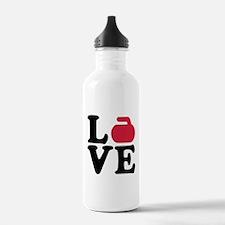 Curling love stone Water Bottle