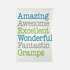 Gramps - Amazing Fantastic Rectangle Magnet