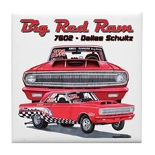 Big Red Ram 2014 Tile Coaster
