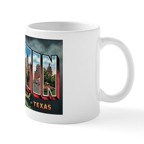 City Of Austin Postcard Mug