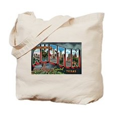 City Of Austin Postcard Tote Bag
