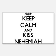 Keep Calm and Kiss Nehemiah Decal