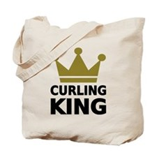 Curling king Tote Bag