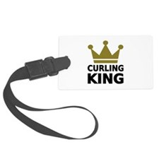 Curling king Luggage Tag