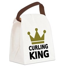 Curling king Canvas Lunch Bag