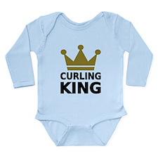 Curling king Long Sleeve Infant Bodysuit
