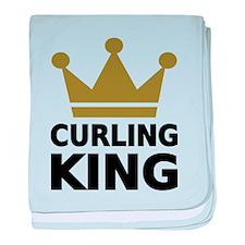 Curling king baby blanket