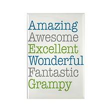 Grampy - Amazing Fantastic Rectangle Magnet
