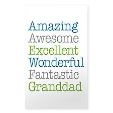 Granddad - Amazing Fantastic Decal