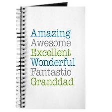 Granddad - Amazing Fantastic Journal