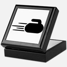 Curling stone Keepsake Box