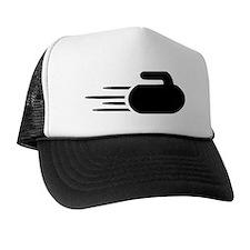 Curling stone Trucker Hat