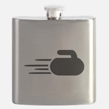 Curling stone Flask