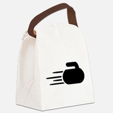 Curling stone Canvas Lunch Bag