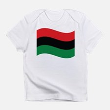 The Red, Black and Green Flag Infant T-Shirt