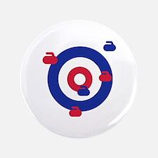 "Curling field target 3.5"" Button"