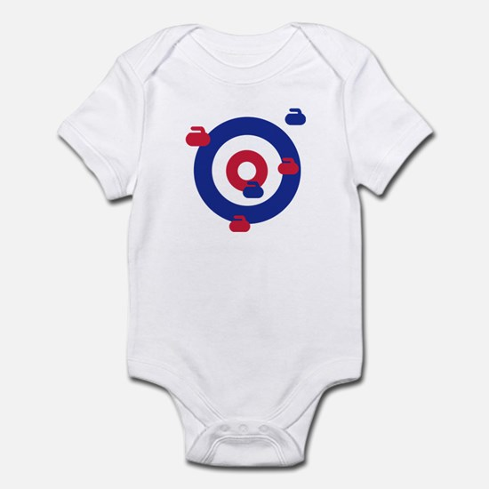 Curling field target Infant Bodysuit