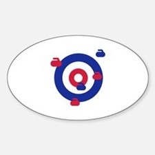 Curling field target Decal