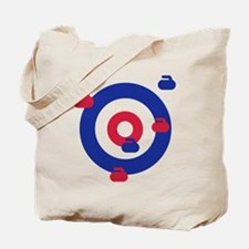 Curling field target Tote Bag