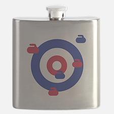 Curling field target Flask