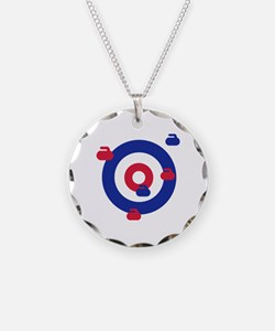 Curling field target Necklace