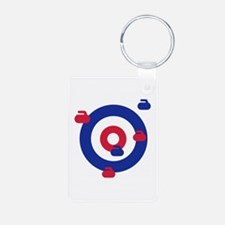 Curling field target Keychains
