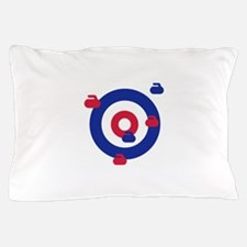 Curling field target Pillow Case