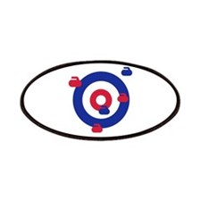 Curling field target Patches