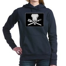 Barbecue Flag Women's Hooded Sweatshirt