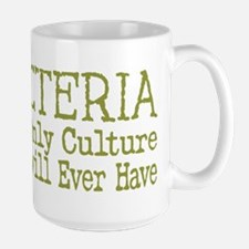 Bacteria - The Only Culture Mugs
