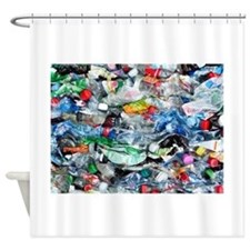 Recycling plastic Shower Curtain