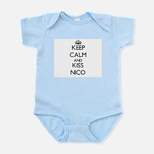 Keep Calm and Kiss Nico Body Suit