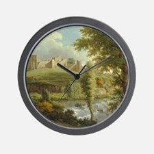 Medieval castle Wall Clock