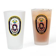 USS Stockdale DDG 106 Drinking Glass