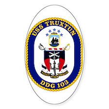 USS Truxtun DDG 103 Decal