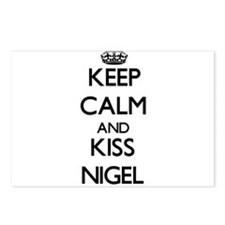 Keep Calm and Kiss Nigel Postcards (Package of 8)