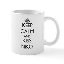 Keep Calm and Kiss Niko Mugs