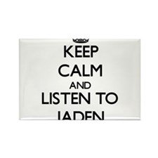 Keep Calm and Listen to Jaden Magnets