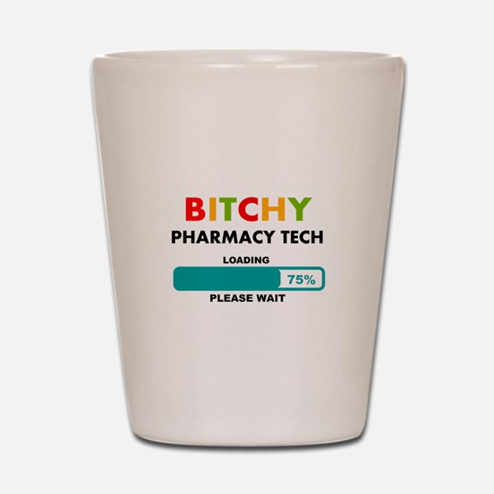 PHARMACY TECH 2 Shot Glass