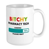 Pharmacy tech Large Mugs (15 oz)