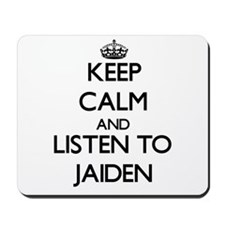 Keep Calm and Listen to Jaiden Mousepad