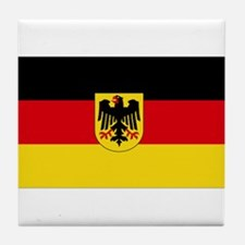 German COA flag Tile Coaster